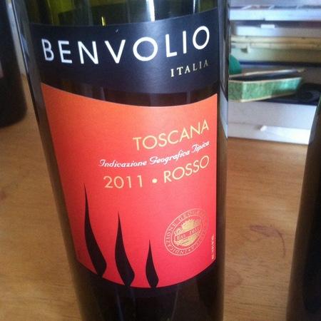 Benvolio Rosso Toscana Sangiovese Blend 2011