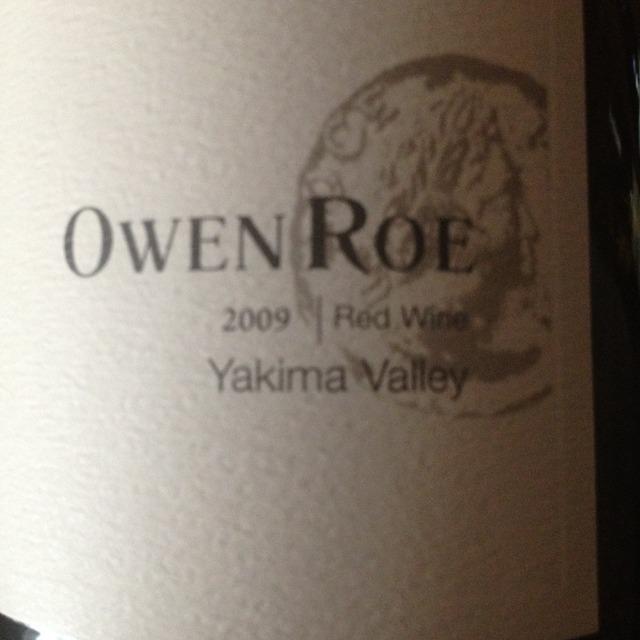 Owen Roe DuBrul Vineyard / Rosa Mystica Block Red Wine Red Bordeaux Blend 2012