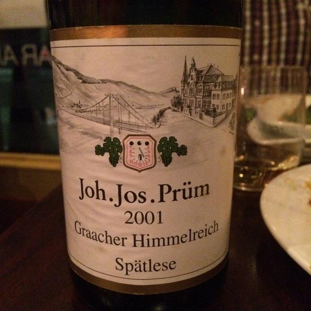 Joh. Jos. Prüm Graacher Himmelreich Spätlese Riesling 2001