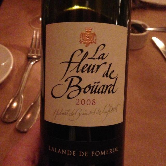 Lalande de Pomerol Red Bordeaux Blend 2008
