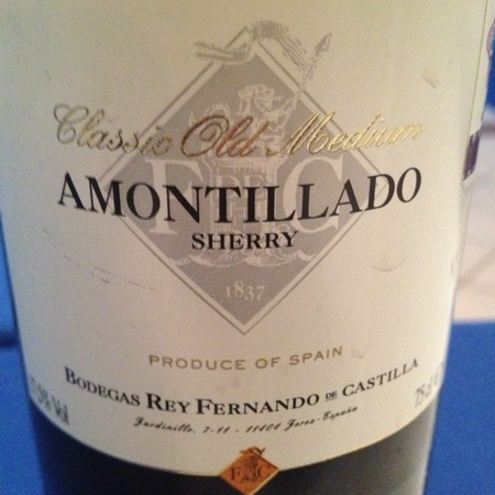 Rey Fernando de Castilla Classic Old Medium Amontillado Sherry NV