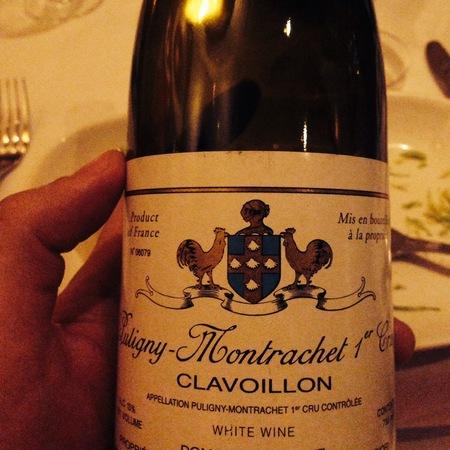 Domaine Leflaive Clavoillon Puligny-Montrachet 1er Cru Chardonnay 2013