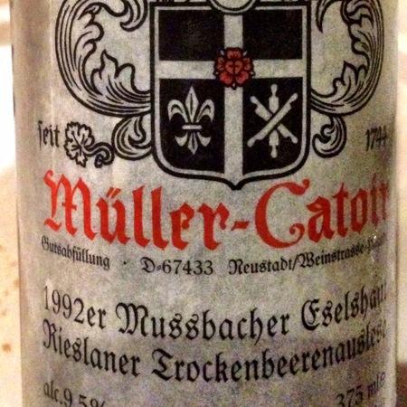 Müller-Catoir Mußbacher Eselshaut Trockenbeerenauslese Rieslaner 1990 (375ml)