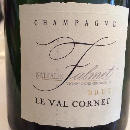 Nathalie Falmet Le Val Cornet Brut Champagne NV