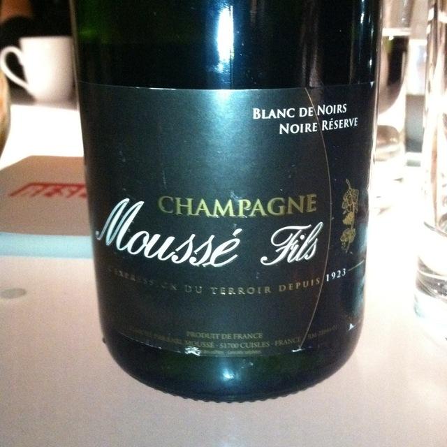 Noire Réserve Brut Blanc de Noirs Champagne Blend NV