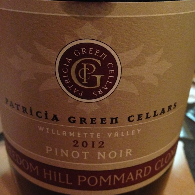 Pinot Noir Freedom Hill Pommard Clone Pinot Noir 2014