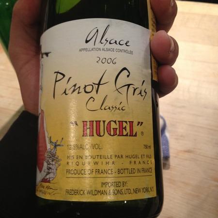 Hugel et Fils Classic Alsace Pinot Gris 2013