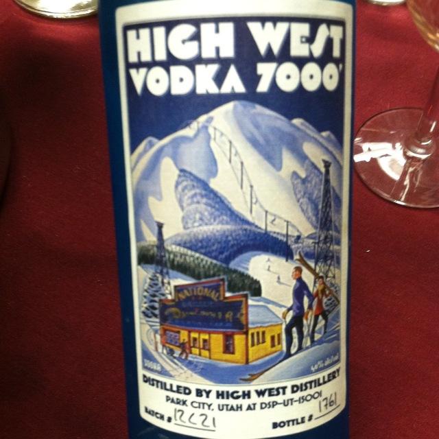 7000 Oat Vodka NV