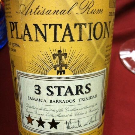 Plantation 3 Stars Artisinal Rum NV