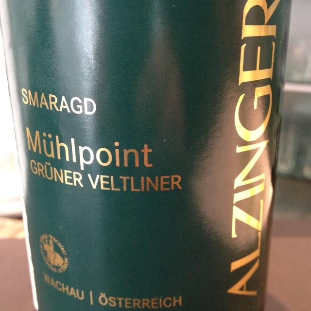 Alzinger Loibner Mühlpoint Smaragd Grüner Veltliner 2015