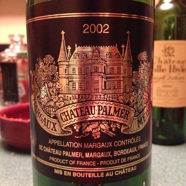 Château Palmer Margaux Red Bordeaux Blend 2002