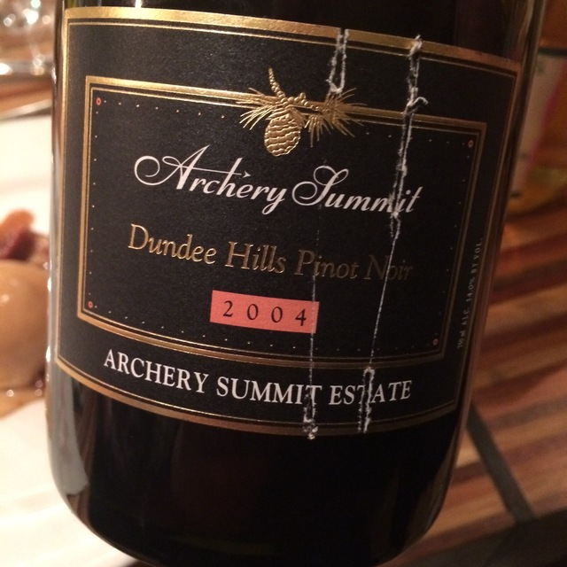 Archery Summit Estate Pinot Noir 2004