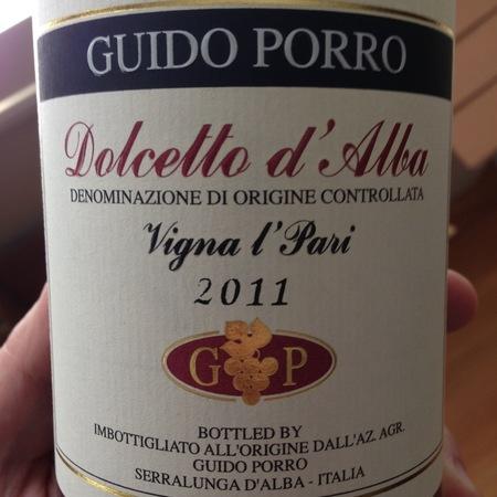 Guido Porro Vigna l'Pari Dolcetto d'Alba 2014