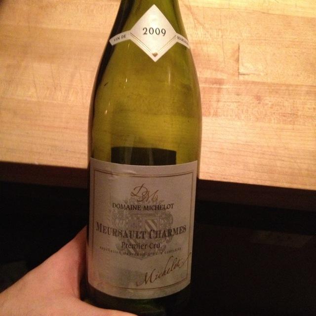Charmes Meursault 1er Cru Chardonnay 2006