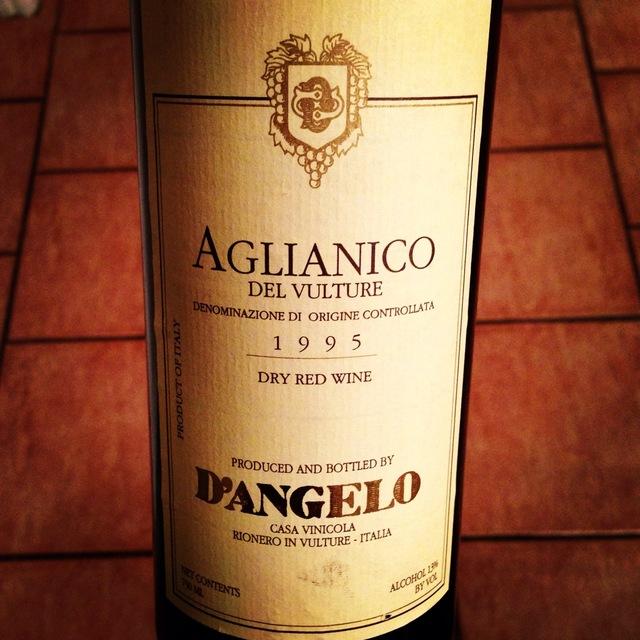 D'Angelo Aglianico del Vulture 2013