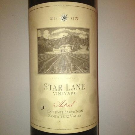 Star Lane Vineyard Astral Santa Ynez Valley Cabernet Sauvignon Blend NV