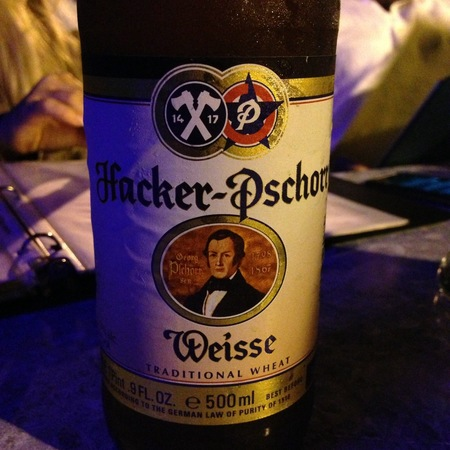Hacker-Pschorr Weisse NV
