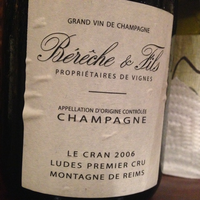 Le Cran Ludes 1er Cru Champagne Blend 2008