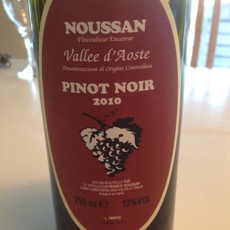 Franco Noussan Valle d'Aosta Pinot Noir 2014