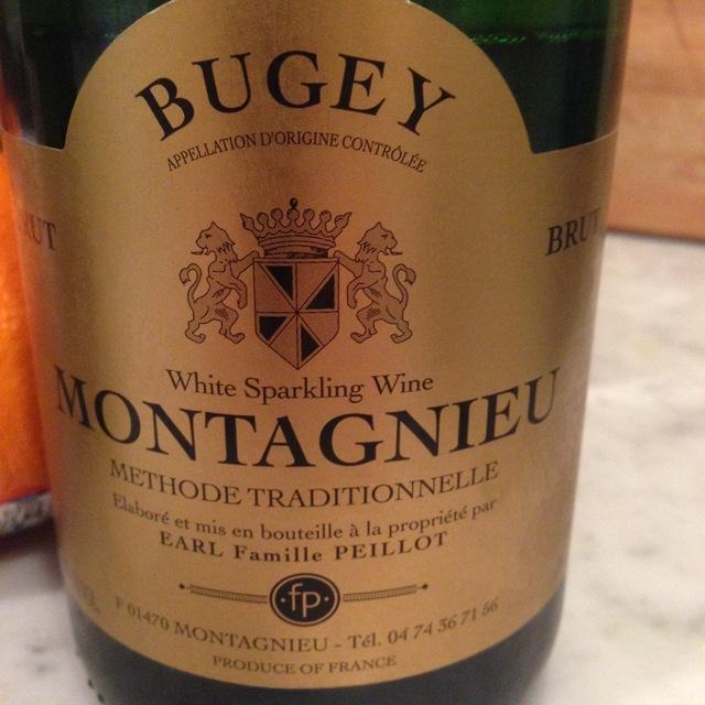 Brut Bugey Montagnieu White Blend 2012