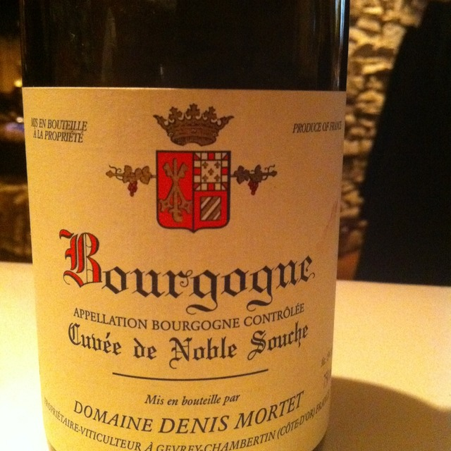 Cuvée de Noble Souche Bourgogne Pinot Noir 2014