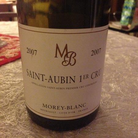 Morey-Blanc Saint-Aubin 1er Cru Chardonnay 2014