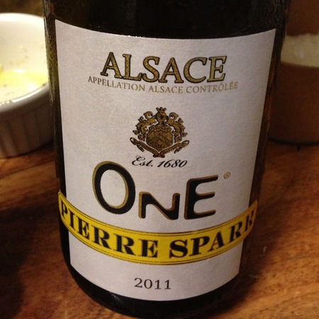 Pierre Sparr One Alsace AOC Pinot Gris Blend 2011