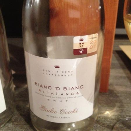 Giulio Cocchi Bianc 'd Bianc  Alta Langa Brut Chardonnay NV