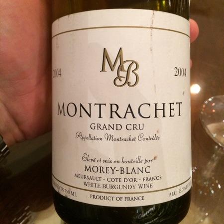 Morey-Blanc Montrachet Grand Cru Chardonnay 1997