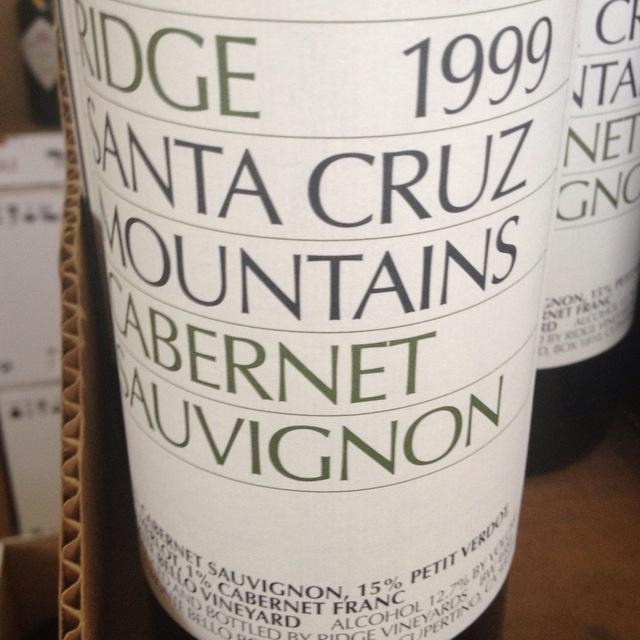 Santa Cruz Mountains Cabernet Sauvignon Blend 2013