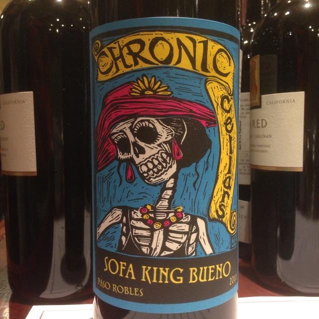 2011 Chronic Cellars Sofa King Bueno Syrah Blend