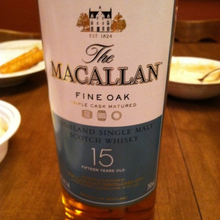 Macallan Distillery 15 Years Old Triple Cask Matured Fine Oak Highland Single Malt Scotch Whisky NV
