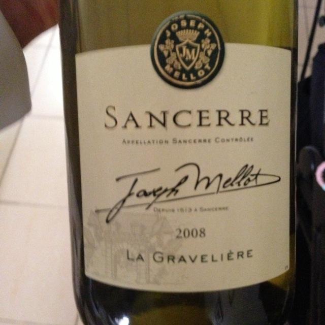Joseph Mellot  La Gravelière Sancerre Sauvignon Blanc 2015