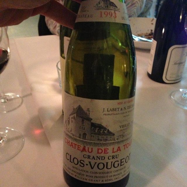 Clos Vougeot Vieilles Vignes Grand Cru Pinot Noir 2013