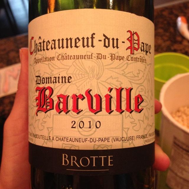 Domaine Barville Châteauneuf-du-Pape Grenache Blend   2014