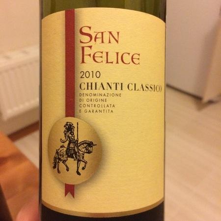 Agricola San Felice Chianti Classico Sangiovese Blend 2015