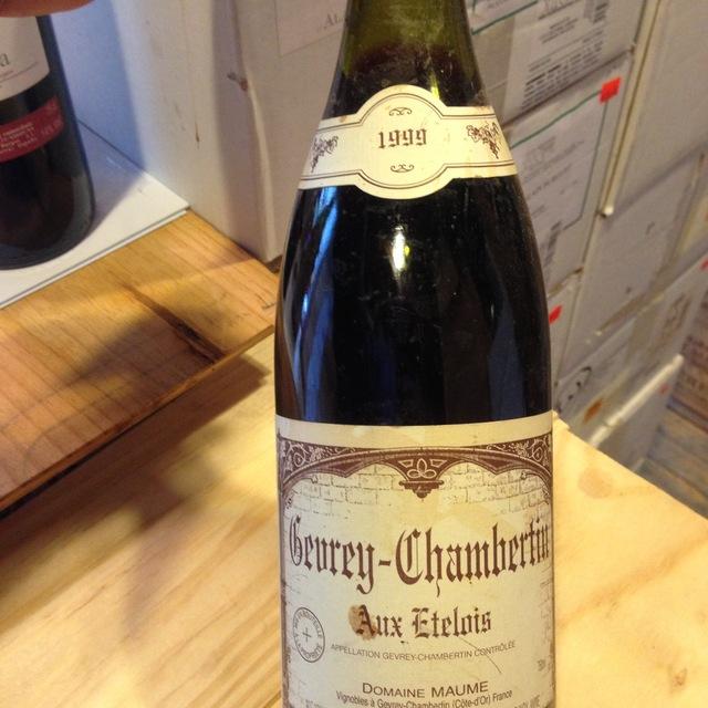 Aux Etelois Gevrey-Chambertin Pinot Noir 2000