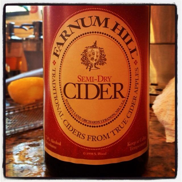 Semi-Dry Apple Cider NV