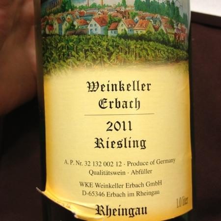 Weinkeller Erbach Rheingau Riesling 2016 (1000ml)