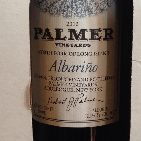 Palmer Vineyards North Folk of Long Island Albariño 2016
