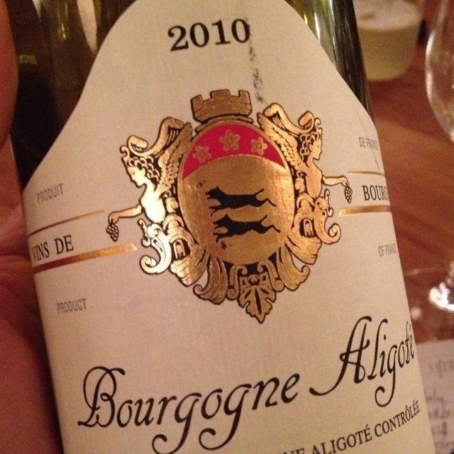 Hubert Lignier Bourgogne Aligoté 2015
