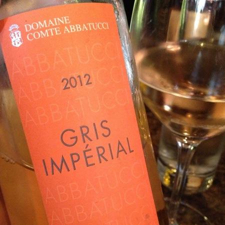 Domaine Comte Abbatucci Gris Imperial Rosé Sciacarello Barbarossa 2016