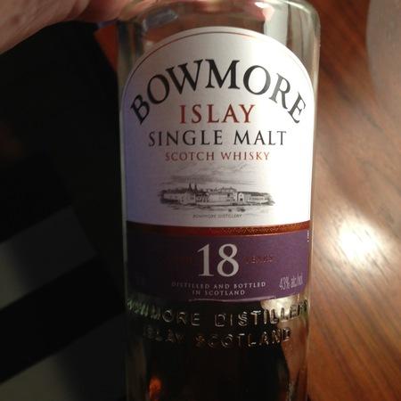 Bowmore Distillery Aged 18 Years Islay Single Malt Scotch Whisky NV