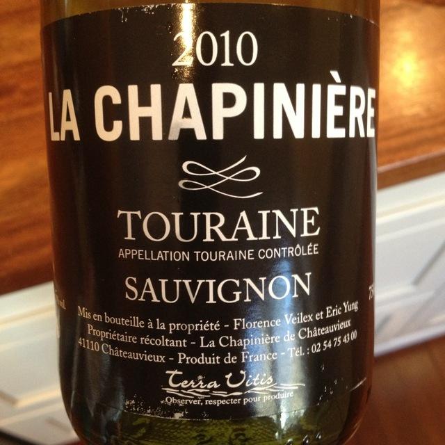 Domaine La Chapiniere Touraine Sauvignon Blanc 2015