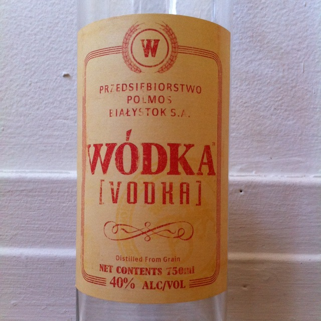 Wodka Polish Vodka  NV (1000ml)