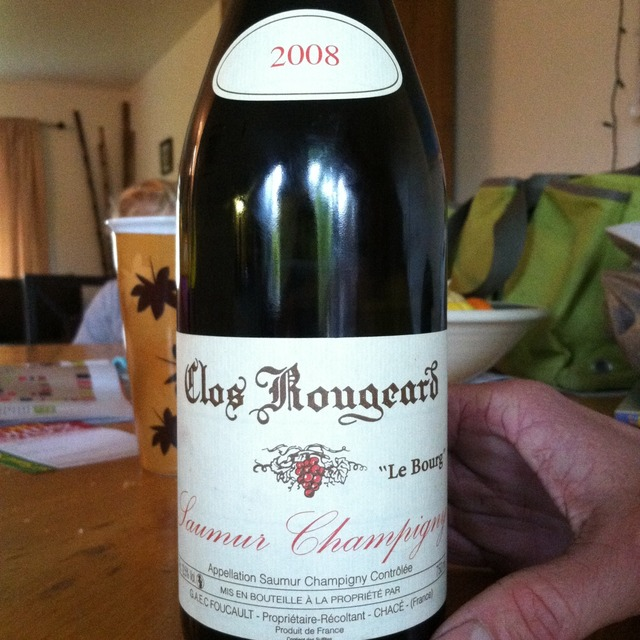Clos Rougeard Les Poyeux Saumur Champigny Cabernet Franc 2008