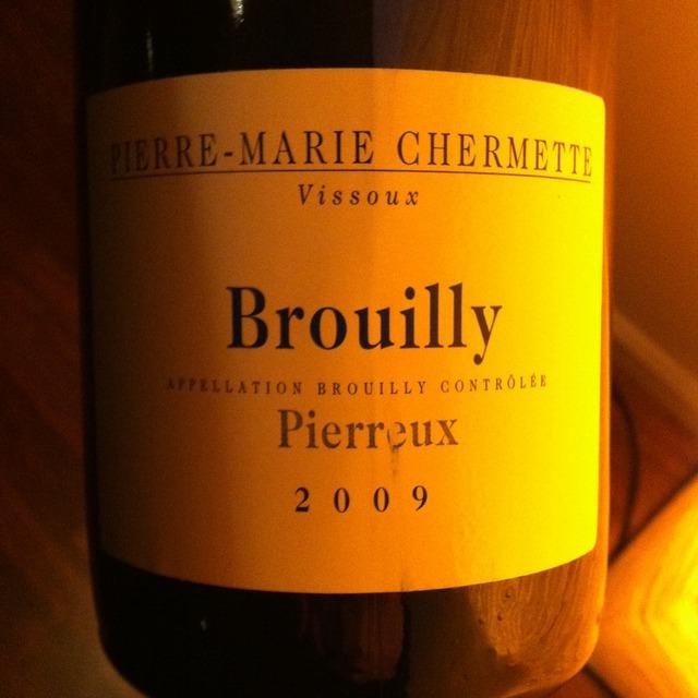Domaine du Vissoux / Pierre-Marie Chermette Pierreux Brouilly Gamay 2015