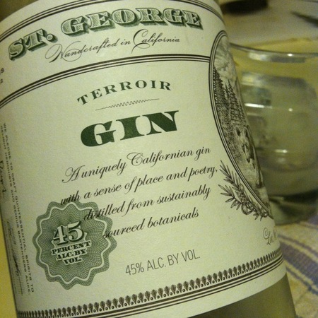 St. George Spirits Terroir Gin NV