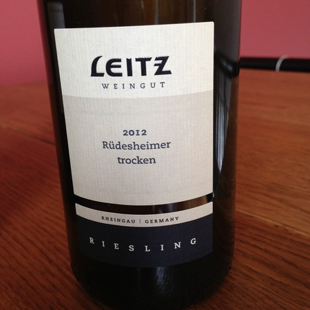 Weingut Josef Leitz Rüdesheimer trocken Riesling 2015