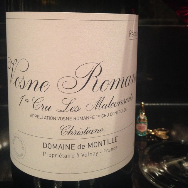 Les Malconsorts Christiane Vosne-Romanée 1er Cru Pinot Noir 2012